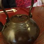 日本料理 竹内 - お茶のお代わり