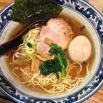 ごきげん鳥 - 味玉らーめん(¥600)1/14/2014