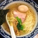 ごきげん鳥 - 塩味玉らーめん(¥700)1/14/2014