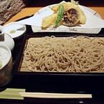 手打ち蕎麦 安田 - 天せいろ 1300円 (^^