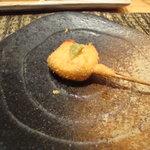 串かつ 阿坊 - 胡麻豆腐