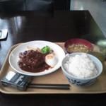キッチン有明 - ハンバーグ定食