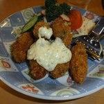 レストラン 志なの - 牡蠣は能登産