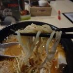 場~麺 - 麺はツルツル・シコシコ