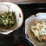 23632472 - くさ木菜ととうふの炒り煮、酢の物