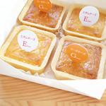モロゾフ 高島屋柏店 - チーズケーキ(エダムとゴーダ各¥157)