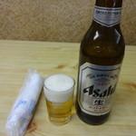 たまち - 瓶ビール(大):650円