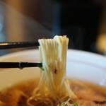 23634736 - 細めのストレート麺