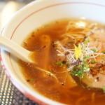 竹中 - 旨みの濃いスープです