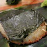 治鮨 - 平貝磯部焼き