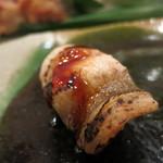 治鮨 - 特上握り 煮穴子