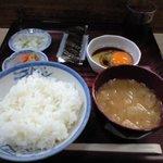 たぬき - 朝定食
