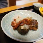 末廣 - 煮物(さざえ、イイダコ、秋刀魚)