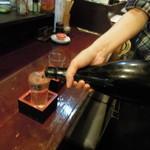 アジト - 冷酒(何杯飲んだか?)