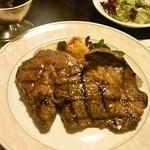 レストラン亀遊亭 - 牛リブロースコース3000円