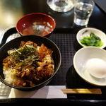 中野畜産 - 牛すじ丼(大盛り無料) 500円
