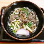 明月 - 肉うどん 550円