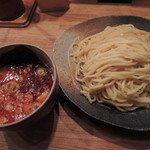 23647752 - 辛味つけ麺・大盛り・辛味スペシャルMAX