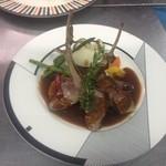 La・maroir - 料理写真:骨付き仔牛のロースト