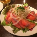 23651410 - トマトとアンチョビのサラダ 700円