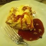 アフタヌーンティー・ティールーム - キャラメルブリュレのショートケーキ