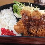 板前洋食 彌生 - チキンカツ弁当【730円】