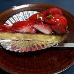 Patisserie Cuire - 料理写真:あまおうのタルト