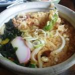 23656336 - ちく天とししとうの天ぷらを入れて、武州しこめんを楽しみます