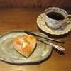 コピエ - 料理写真:ちょこっとパンケーキとオーガニックコーヒー