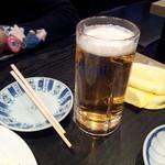 夢市門 - 二人は生ビール