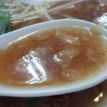自家製麺中華そば 今里 - スープ