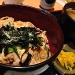 薩摩うどん - 親子丼セット