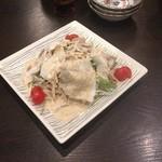 水炊き 積 - 豚しゃぶサラダ