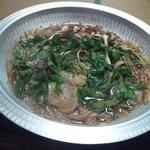 田舎料理おかりば - 猪鍋も食べ頃です。
