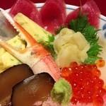 23663593 - 201401 加賀 ★日本海丸ごと海鮮丼御膳(1500円)★