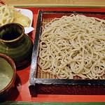 隠れ処 蕎麦居酒屋 梅ぞ乃 - 天もり 1150円 (^^