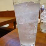 鉄板おおかわ - レモンサワー400円