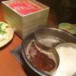万燈 - しゃぶしゃぶ〜!( ´ ▽ ` )ノ