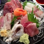 回転寿司 魚浜 - 刺盛り