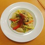 スパゲッティ食堂ドナ - 牡蠣と蕪の味噌仕立て