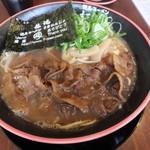 tokushimara-memmenou - 肉入り大 ¥900