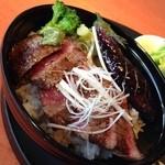 あっぷるぐりむ - 料理写真:信州牛の贅沢丼Part2