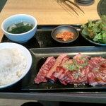 肉問屋直営店 焼肉屋 ニクマサ - 料理写真:ハラミランチ(150g)(930円)