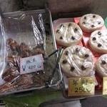 23674168 - お店に並ぶ手作り料理○2014.01