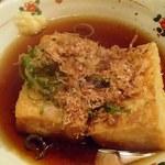 ダルマ - 揚げ出し豆腐(350円)