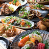 Tsukinohana - 料理写真:各種コースも充実!飲み放題付きもOK。宴会は月の華で!