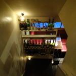 サントラントヌフ - 2階階段からの眺め
