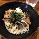 嵐風 - 2014年1月再訪 牛ミニチャーシュー丼