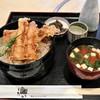 食通 ゆたか - 料理写真:ランチの穴子天重(950円)