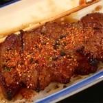 ミツワ - 七味唐辛子をガッツリ
